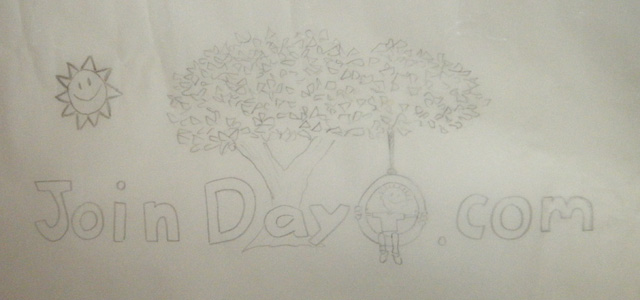 First Dayo Logo Sketch